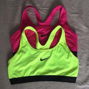 Nike Pro Bras